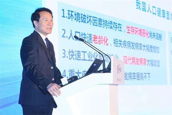 詹启敏:中国人口与医疗的挑战及精准医疗的发展